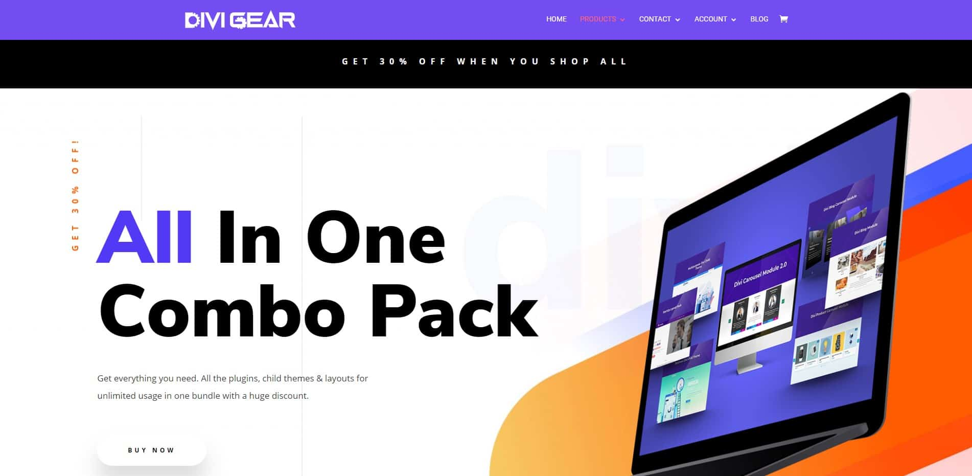 Divi Gear All in combo pack