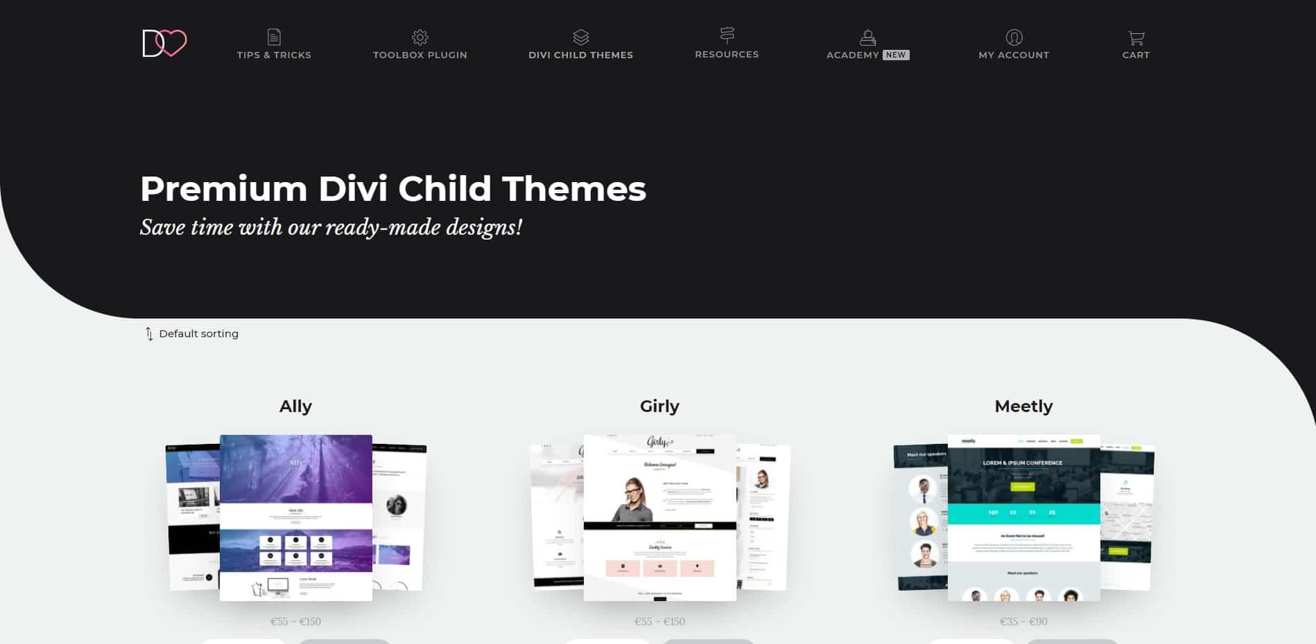 Divi Lover Premium Child Themes
