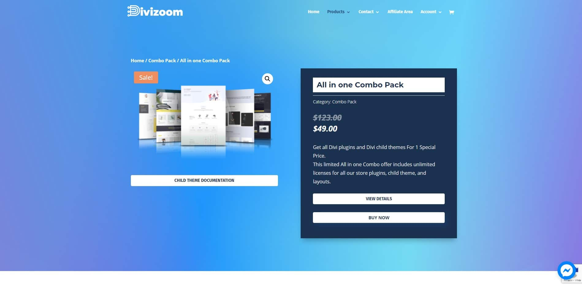 Divizoom All in one combo pack