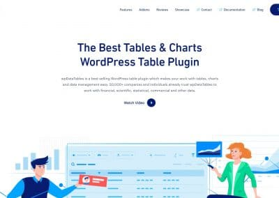 WP Data Tables