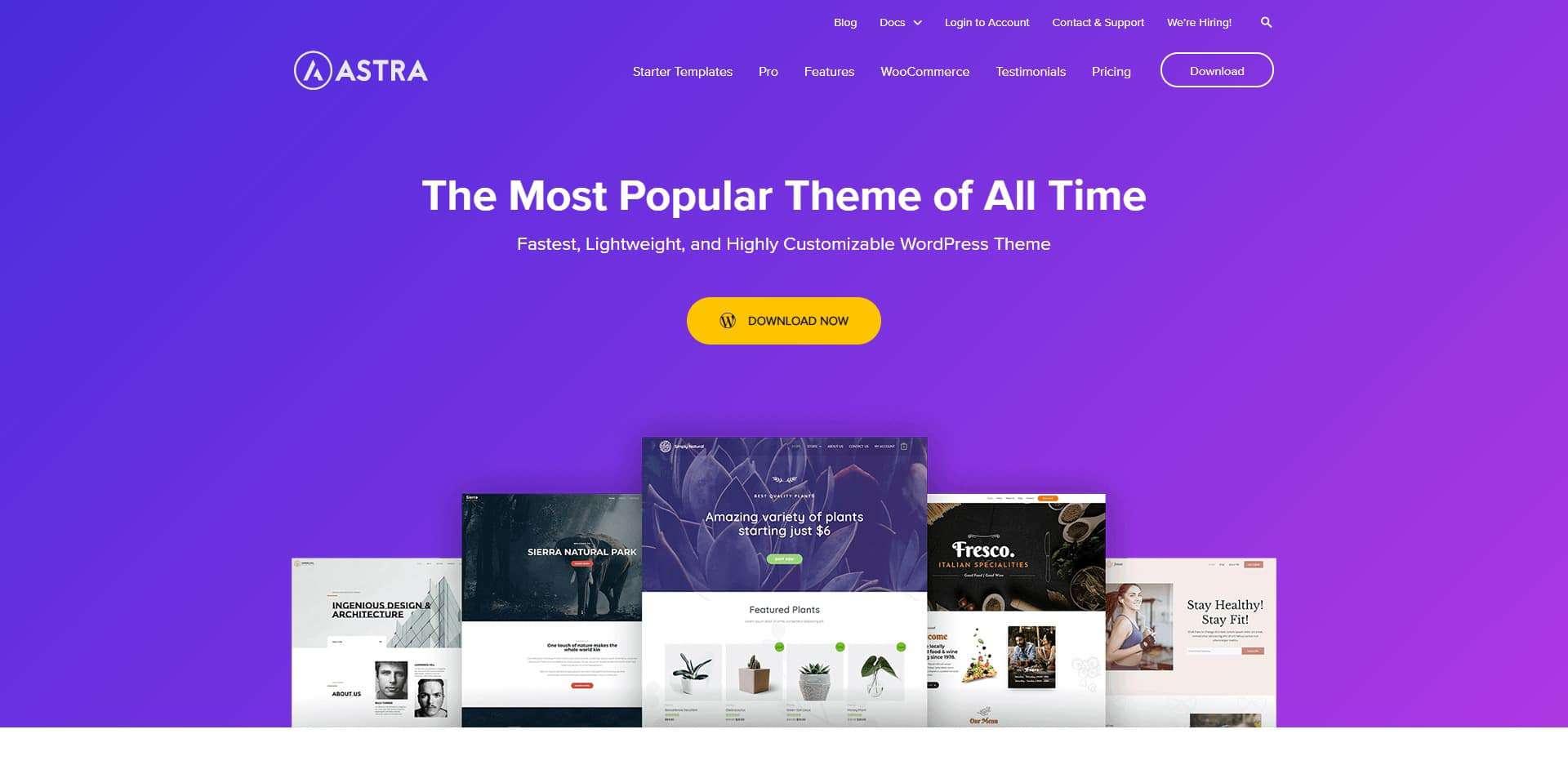 WP Astra WordPress Theme