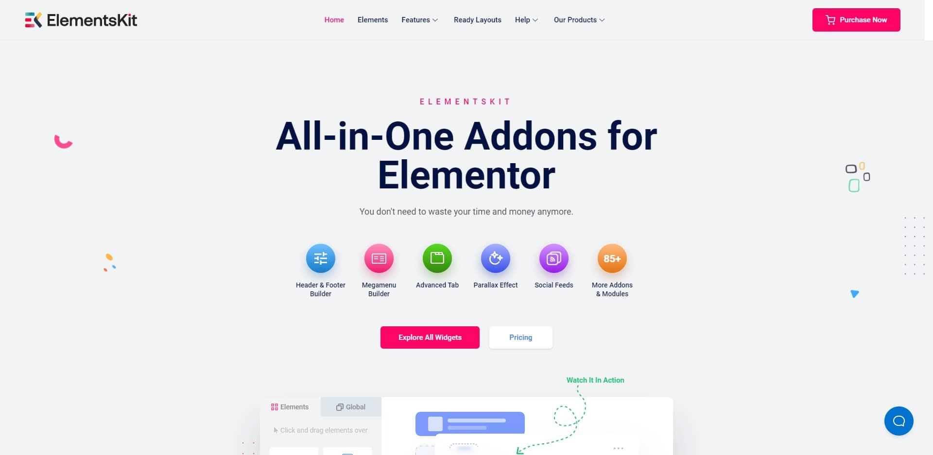 ElementsKits addons